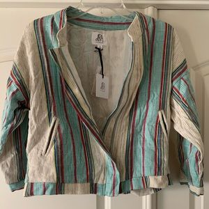 dRA Anthropologie crop jacket